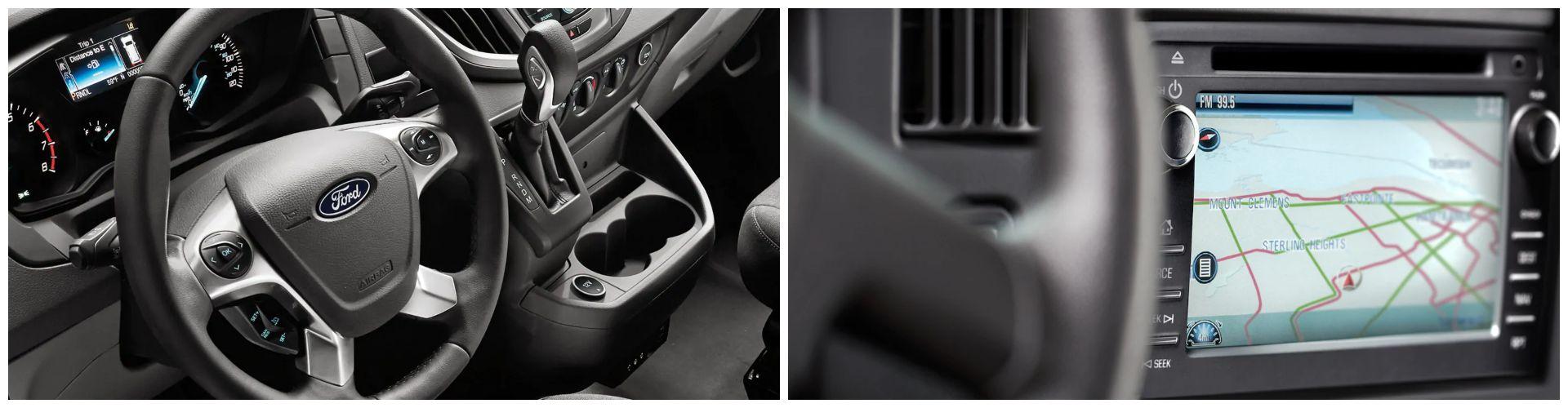 Interior - Ford Transit vs. Chevrolet Express