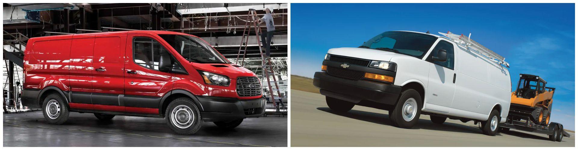 Performance - Ford Transit vs. Chevrolet Express
